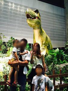 パシフィコ横浜の恐竜展2017の写真