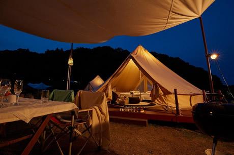 ツインリンクもてぎ森と星空のキャンプヴィレッジの写真
