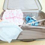 子連れ旅行の荷物の写真