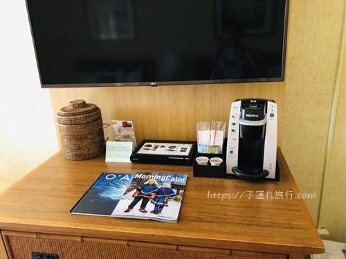 ハワイの子連れホテルのテレビ写真