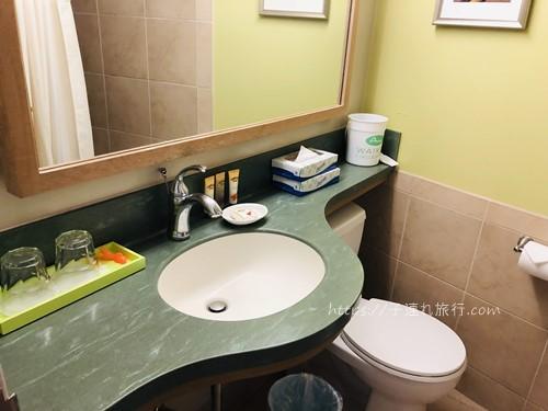 ハワイの子連れホテル2回目の洗面台写真