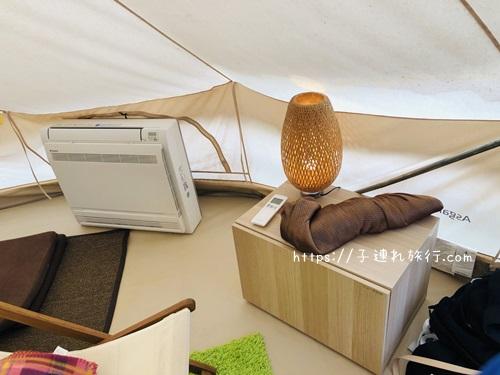 ザファーム千葉のグランピング、キャンプの写真